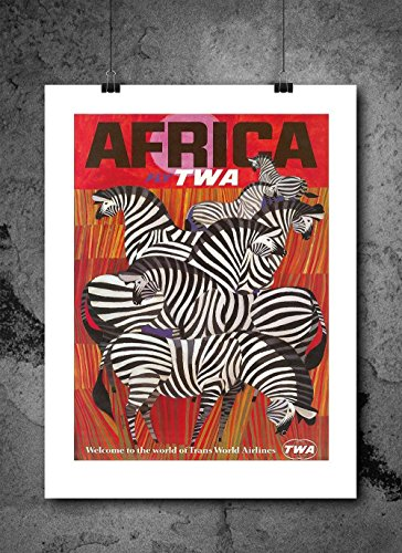 twa-africa-vintage-travel-poster-print-8x10-print-vintage-advertisments-abstract-prints-wall-art-for