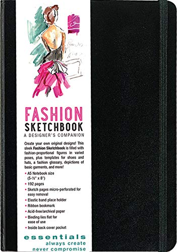 (Essentials Fashion Sketchbook (366 Figure Templates to create your own designs!) Fashion)