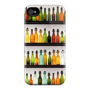 Waterdrop Snap-on Empty Bottles Case For Iphone 4/4s