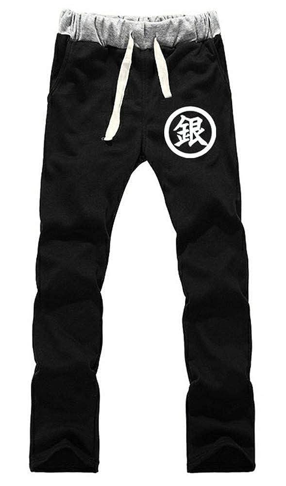 Gumstyle Gintama Anime Sweatpants Jogger Elastic Waist Pants Sport Trousers
