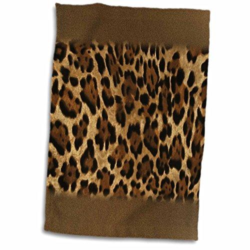 Jaguar Print Towel- 12x18 Towel