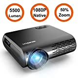 Best Tv Projectors - Projector, WiMiUS P20 Native 1080P LED Projector 5500 Review
