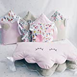 Baby Crib lovely Bedding set for Girl with bumpers