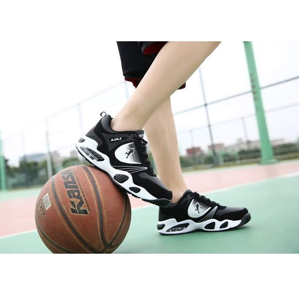YSZDM Basketballschuhe, Men es es es Turnschuhe Wear-Resistant Non-Slip High-Top Basketball-Trainer Kushioning Breathable Outdoor Stiefel,Blau,41 B07M7VF3ZJ Basketballschuhe Wirtschaftlich und praktisch 2d4222