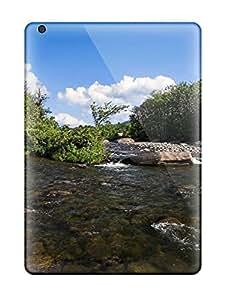 ZippyDoritEduard Scratch-free Phone Case For Ipad Air- Retail Packaging - Stream Earth Nature Stream