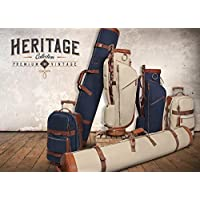 OGIX GOLFERS TRAVEL BAG COMPLETE SET HERITAGE RANGE GOLF BAG TRAVEL COVER AND WHEELED CABIN LUGGAGE NOT £499 NOW £75!!!