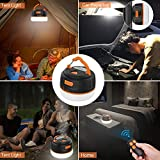 Siivton Camping Lights, Rechargeable Camping