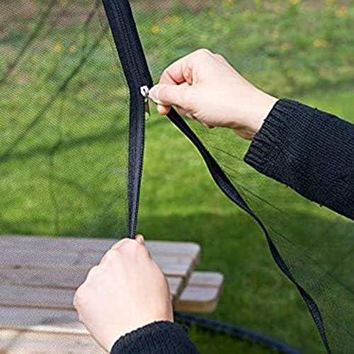 Gartenmückenabdeckung, Gartenschirm im Freien Tischschirm Sonnenschirm Moskitonetzabdeckung Netzabdeckungen Für Innen- und Außenbereiche, Camping