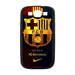Active FC Barcelona Samsung Galaxy S3 I9300 Case Cover TPU Laser Technology Futbol Club Barce Pirate flag Skull