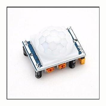 WKELECTRONDE-1 UNIDS SR501 HC-SR501 Ajuste IR Piroeléctrico Módulo PIR Infrarrojo Sensor de