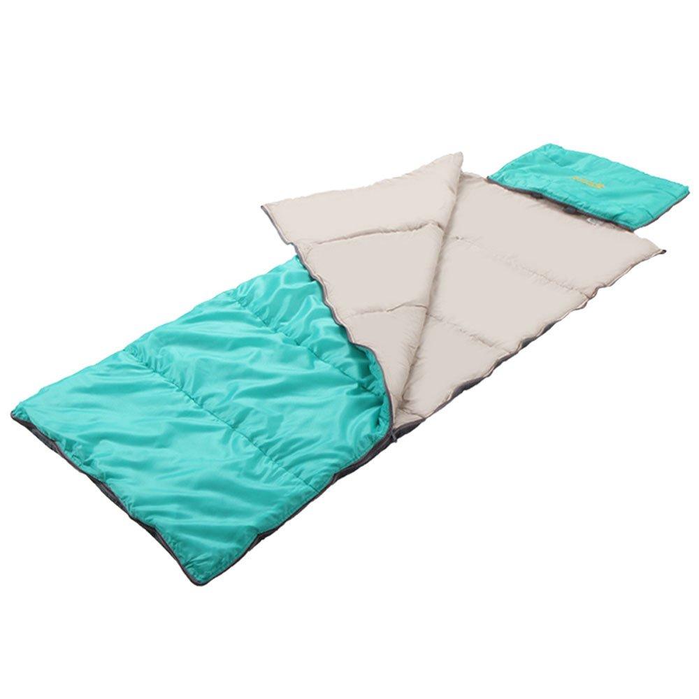 MUTANG Sacos de Dormir para Adultos al Aire Libre Camping Travel Hotel Anti-Dirty Four Seasons Almohada Multiusos Office Nap Saco de Dormir Individual Portátil