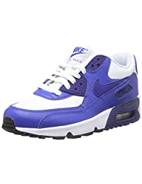 Nike Youths Air Max 90 LTR Leather Trainers