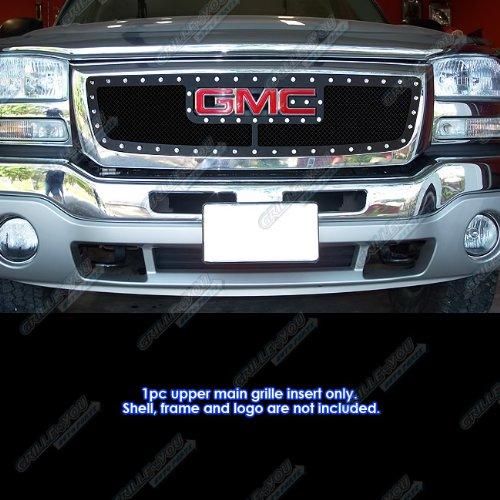 03 sierra chrome mesh grill - 9