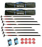 ZipWall ZP4 10-Foot Spring-Loaded Poles For Dust Barriers (2-Pack)