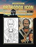 Orthodox Icon Coloring Book Vol. 7: 20 Icons of Novgorod School