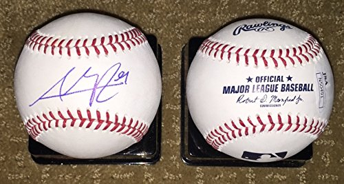 Chicago Cubs Addison Russell signed autographed MLB Baseball JSA COA by Shop4Autographs