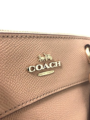 Mini Carryall Coach Detachable Crossgrain Handbag Womens Crossbody Leather Brooke Pink Signature Strap Nude 51qwZ6q