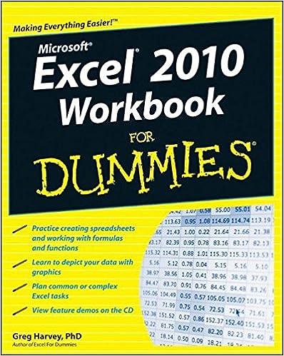 Excel 2010 Workbook For Dummies: Greg Harvey: 9780470489604 ...