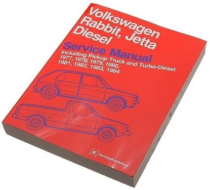 amazon com bentley w0133 1621303 bnt paper repair manual vw rabbit rh amazon com VW Rabbit GTI VW Rabbit GTI