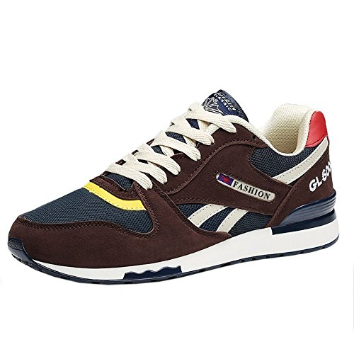 1 up Melady brown Trainer Lace Uomo Unisex nTT6cCW