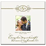 Personalized Mr & Mrs Wedding Anniversary Gifts Photo Album Every Love Story Is Beautiful but Ours Is My Favorite Holds 200 4x6 Photos Wedding Gift Ideas Made By LifeSong Milestones