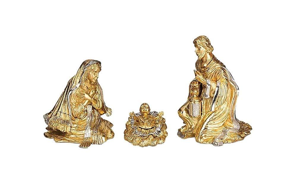 Jay Strongwater Holy Family Nativity 18k Gold Sdh1880-292