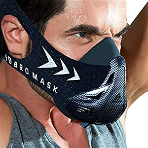 FDBRO Sports mask Fitness,Workout,Running, Resistance,Riding,Boxing,Cardio,Endurance Mask for Fitness Training Sports mask 3.0