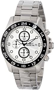 "Invicta Men's 15206 ""Pro-Diver"" Stainless Steel and Black Bezel Bracelet Watch"