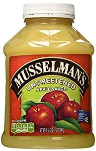 Musselman's Natural Unsweetened Applesauce 46 oz