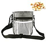 Cheap Enjoygous Pet Dog Treat Training Pouch Waist Bag Belt with Easy Open-Close Spring Hinge and Front Mesh Pocket, Poop Bag Dispenser, Easily Carries Pet Puppy Toys, Kibble, Treats Snacks Food