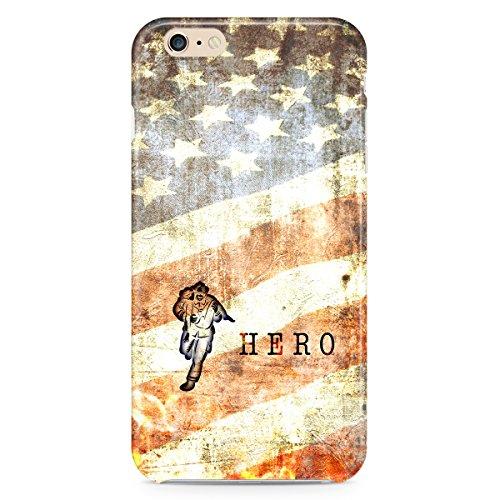 Phone Case For Apple iPhone 5C - Firefighter Hero Grunge Designer Wrap-Around