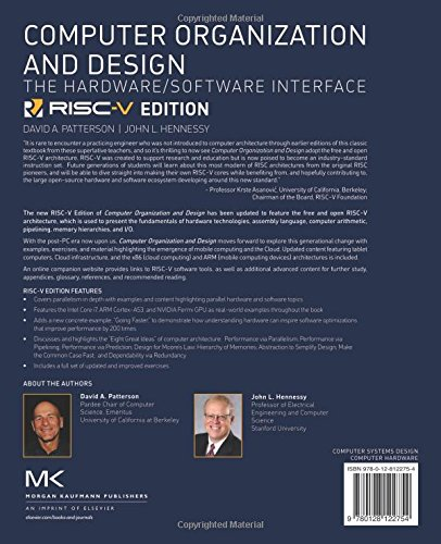 The Hardware Software Interface Computer Organization And Design Risc V Edition
