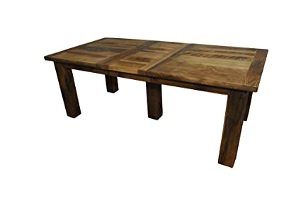 Table Barn Wood Dining With Rustic Extension Reclaimed orCdBxWe