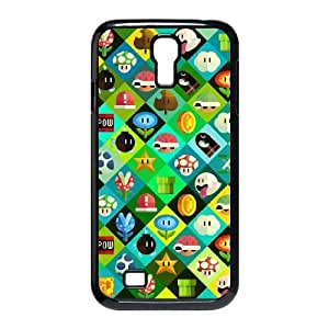 SamSung Galaxy S4 9500 phone cases Black Super Mario Bros cell phone cases Beautiful gifts LAYS9799219