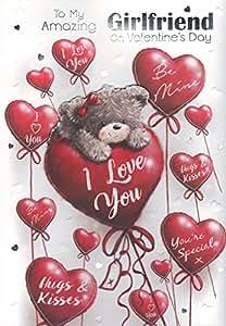 Novia casehome una tarjeta de San Valentin - 'a mi novia casehome en San Valentín'