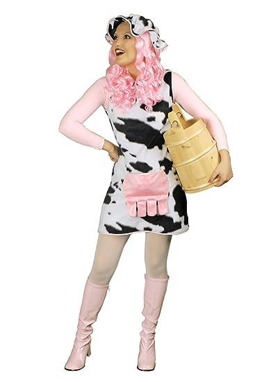 Faschingskostüm Kuh-Kleid Elsa Größe 44