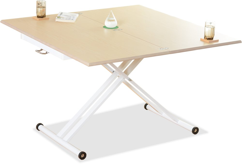 Ventura(ベンチュラ)伸張昇降テーブル (Maple) B073QNKQQY Parent Maple