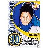 Maxime Lapierre Hockey Card 2011 Quebec Pee-Wee Danone #6 Maxime Lapierre