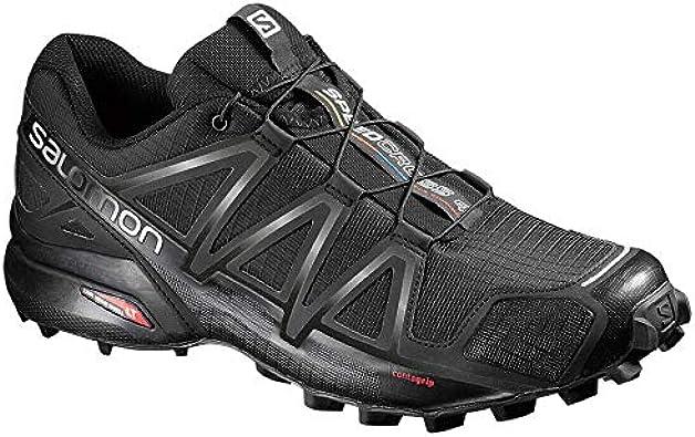 Dick Salomon Speedcross 4 Trail - Zapatillas de Running para Hombre, Negro (Negro), 44.5 EU: Amazon.es: Zapatos y complementos