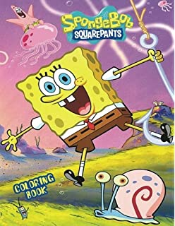 amazon com spongebob squarepants coloring book set 2 coloring