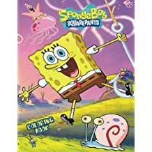 SPONGEBOB: Coloring Book for Kids and Adults - 40 illustrations