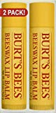Burts Bees 2pk  Beeswax Lip Balm Burt's Bees Lip Balm, Beeswax