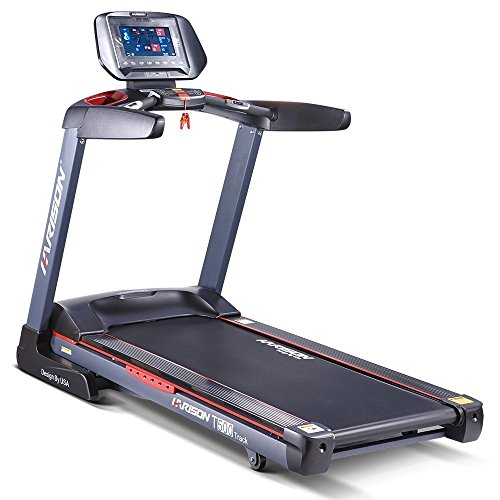 """HARISON T500TRACK Motorized Treadmill with 10.1"""" Touch Screen, Gym Quality"""