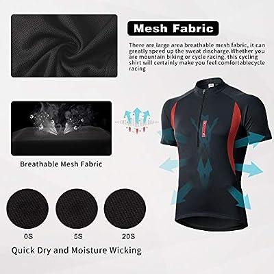 Baselayer Sport S/échage Rapide Manches Longues Vetement de Fitness Football Jogging Cyclisme MEETWEE T-Shirt Compression Homme Maillot