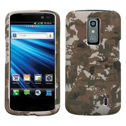 MYBAT LGP930HPCLZ765NP Lizzo Durable Protective Case for LG Nitro HD - 1 Pack - Retail Packaging - Digital (Lizzo Digital Camo)