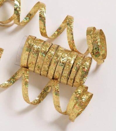 gold serpentine streamers - 2