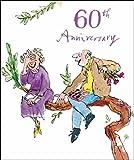 Woodmansterne 60th Wedding Anniversary Card (9303) - Quentin Blake
