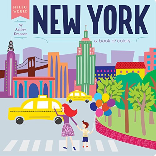 New York: A Book of Colors (Hello, - New Stores Nyc