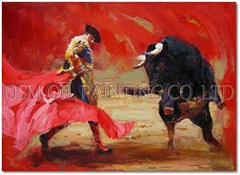QYYDYH Artista Experto Impresión Hecha a Mano España Juego ...
