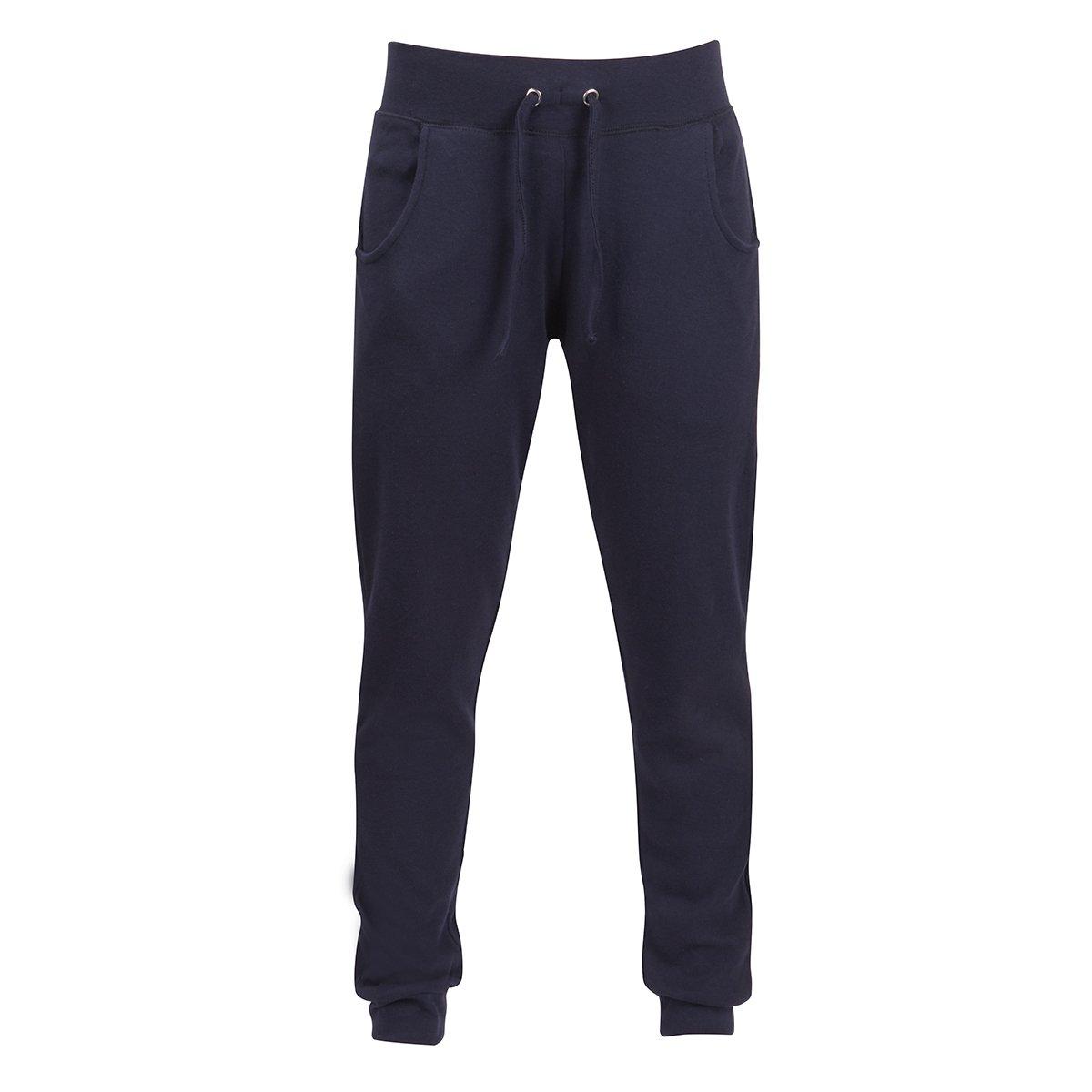 COTTONIQUE Ladies Skinny Casual Joggers Cotton Sweatpants